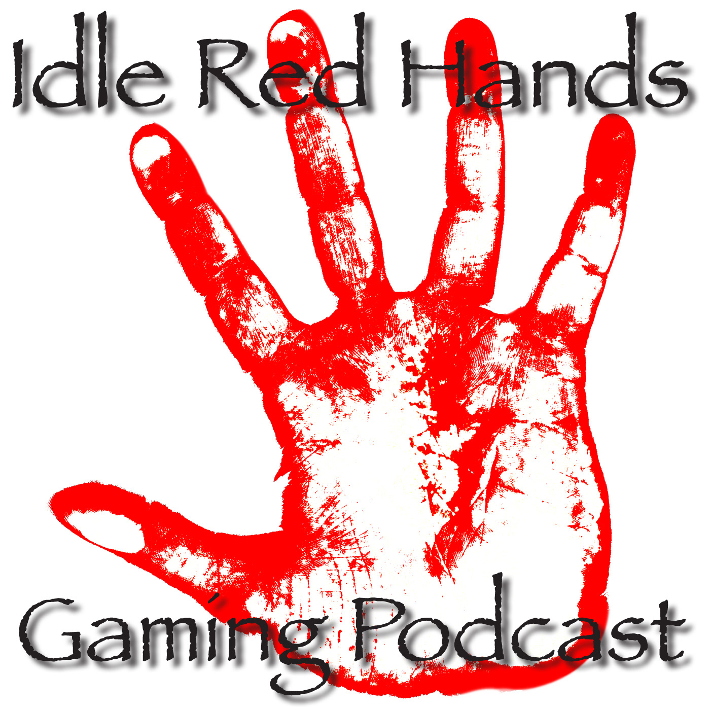 Idle Red Hands logo